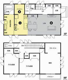 第2回 共働き家庭向き 間取りアイデア8選 - 共働き夫婦が幸せになる家づくり - NIKKEI 住宅サーチ