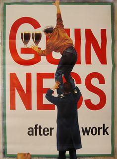 Guinness Beer Poster, Poster Ads, Dark Irish, Guinness Advert, Pub Vintage, Premium Beer, Irish Traditions, Luck Of The Irish, Best Beer