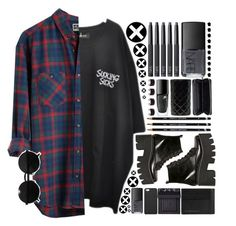 """""""Its Over"""" by kamakira ❤ liked on Polyvore featuring ...Lost, Versace, Jeffrey Campbell, Burberry, NARS Cosmetics, GiGi New York, Monki, Emissary, Lancôme and Maison Margiela"""