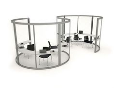 open-plan privacy solutions - Google Search
