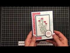 Stampin' Up! Wild About Flowers - YouTube