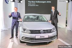 The 2016 Volkswagen Jetta facelift has just been launched Malaysia, available in three variants: Trendline, Comfortline and Highline, priced at RM109,578,