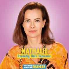 Carole Bouquet ist Nathalie. #NurEineStundeRuhe läuft jetzt im Kino. Naive, Monsieur Claude, Comedy, Bouquet, Pure Products, Storyboard, Be Bold, Film Director, Cinema