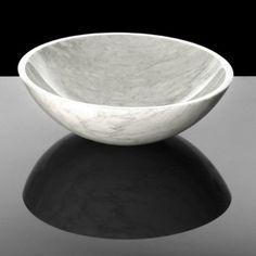 Coombell Natural Stone Basin - Carrara Marble