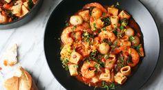 Shrimp and Pasta Stew | Recipes - PureWow