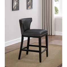 Enjoyable Npd Bentley Counter Stool Molasses Bonded Leather On Wenge Unemploymentrelief Wooden Chair Designs For Living Room Unemploymentrelieforg