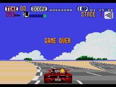 OutRun - Mega Drive - Sega Genesis