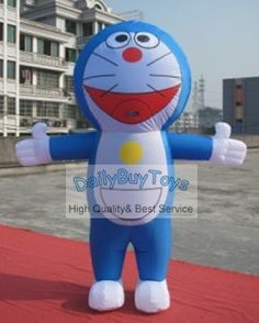 347.89$  Buy here - http://ali0qr.worldwells.pw/go.php?t=643429287 - DC28 Doraemon Inflatable Moving Cartoon / Air Blower Fan / Free Shipping 1 Set  Wholesale / Customize / Promotional Products 347.89$