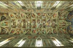 Up close and personal with a Renaissance master work Art Assignments, Arts Integration, Sistine Chapel, Fresco, Art Lessons, Renaissance, Spirituality, Ceiling Lights, Studio