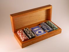 poker chip box