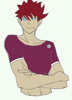 My oc csak fiúban Atsune Hiruko