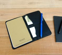 Leather Field Notes