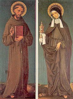 St Francis and St Claire