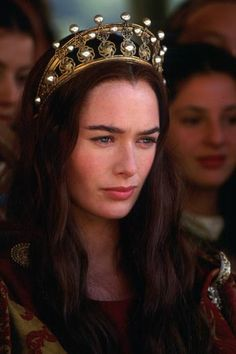 Guinevere (Lena Headey) in Merlin (NBC mini series 1998)