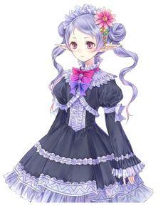 Hom Female - Characters  Art - Atelier Meruru: The Apprentice of Arland