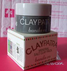 Banila Co. Claypatra Mineral Salt Clay Pack, 12g (deluxe sample, new in box)(MEMEBOX)
