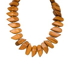 I love the Kenneth Jay Lane Wood Bead Necklace from LittleBlackBag