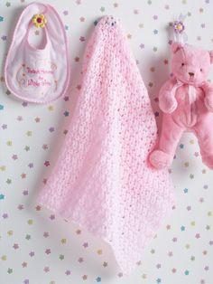 Beautiful Baby Blanket | Yarn | Free Knitting Patterns | Crochet Patterns | Yarnspirations
