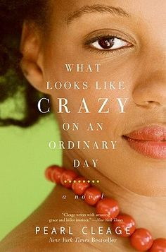 What Looks Like Crazy On an Ordinary Day by Pearl Cleage. On learning she has the aids virus, Ava Johnson closes her beauty parlor in Atlanta and returns to her hometown in Michigan, devoting herself to counseling black girls in trouble. In the process she falls in love with a man convicted of murder. A look at the problems facing black youth.