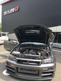 Nissan Skyline R34 GT-R Nissan Gtr R34, R34 Gtr, Tuner Cars, Jdm Cars, Nissan Gtr Skyline, Import Cars, Japanese Cars, Sexy Cars, Cool Cars