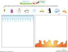 Worksheets: Hot or Cold?