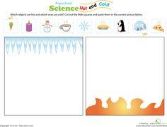 Worksheets: Hot or Cold?