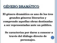 FORMAS DEL GENERO DRAMATICO 2DO DE PRIMARIA - Buscar con Google