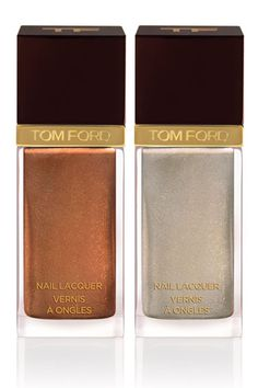 Best Summer Nail Polish: Tom Ford Beauty Nail Lacquer in Burnt Topaz & Silver Smoke