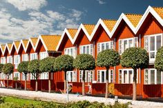 Ebeltoft Frequently cited as one of Denmark's most picturesque destinations...known for its winding cobbled lanes, quaintly crooked timber-framed houses and blooming hollyhocks in spring,
