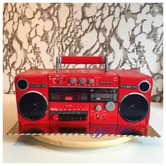 Boombox of the 80s by Felis Toporascu