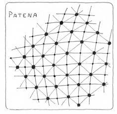 Patena Official Zentangle Pattern