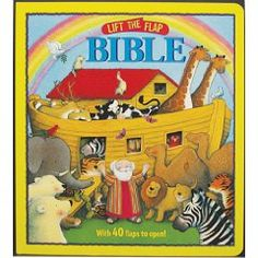 Lift-the-Flap Bible [Hardcover], (childrens books, christian childrens books, christian childrens book, love, kids, jesus, christianity, baptism gifts, christening gift, baby prayer book)
