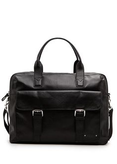 SATCHEL By #MANGO $99.99  Faux #leather satchel with two top handles, detachable canvas long strap and external flap pocket with two decorative buckles and double magnetic button fastening. Internal compartments for mobile devices, internal zip pocket and top zip fastening.  #bags #women #fashion #meinstyleclothing