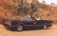 Barris' first Batmobile