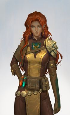 Female Character Design, Character Design Inspiration, Character Concept, Character Art, Elf Characters, Dungeons And Dragons Characters, Fantasy Characters, Fictional Characters, Fantasy Races
