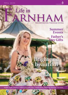 ~ Bright and beautiful ~ Life in Farnham June 2015 ~ Darling Buds of May-inspired shoot in Gostrey Meadow, Farnham. Darling Buds Of May, Farnham Surrey, Summer Events, Gifts For Father, Life Is Beautiful, Green Dress, June, Product Launch, Flower Girl Dresses