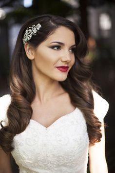 brides of adelaide magazine old hollywood glamour wedding bride makeup wedding hair