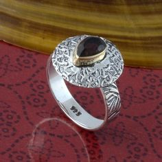 HOT SELLING 925 STERLING SILVER SMOKEY CUT NEW RING 3.81g DJR3300 #Handmade #Ring