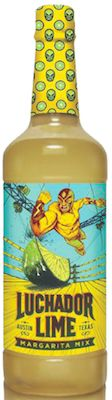 Luchador Margarita Mix features a natural lime taste with limited artificial colors or flavors.
