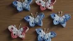 Farfalle all'uncinetto con facili schemi scelti da Pinkblog