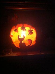 2014 Halloween pumpkin