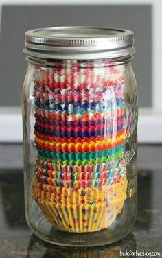 Store in a jar