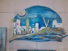 seaside mykonos furniture: Driftwood art Θαλασσόξυλα