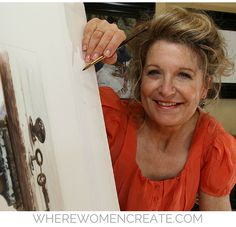 Susan Harrison-Tustain is an internationally recognized professional artist featured in the summer 2016 issue of Where Women Create. Susan shares the origin of her courageous attitude that has fostered her enormous success today.