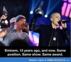 Eminem! He's amazing :)