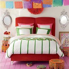 Color, color, color - including papel picado