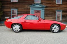 Porsche 928 - hated by many as it's a radical departure from traditional Porsche lineage at the time (aka 911, rear engine, 6 cyl) but one of the greatest cars of all time.