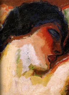 "Kees van Dongen ""Female Torso. detalhe »"