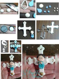 Risultati immagini per mokume fimo angeli