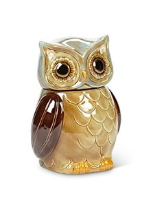 OWL 4 PC Canisters And Tray Set COLORFUL KITCHEN STORAGE CANISTER SET    Canister Sets, Trays And Storage